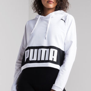 PUMA URBAN SPORTS WOMEN'S CROPPED HOODIE